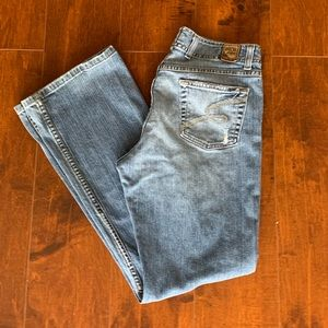 BKE Buckle Wendy Stretch Thick Denim Bootcut Jeans